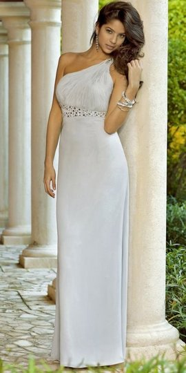 Alexia Designs Light Grey Style 4070 Dress