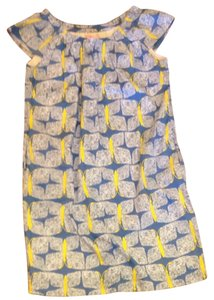 Lilly Pulitzer short dress Blue, Yellow, White on Tradesy