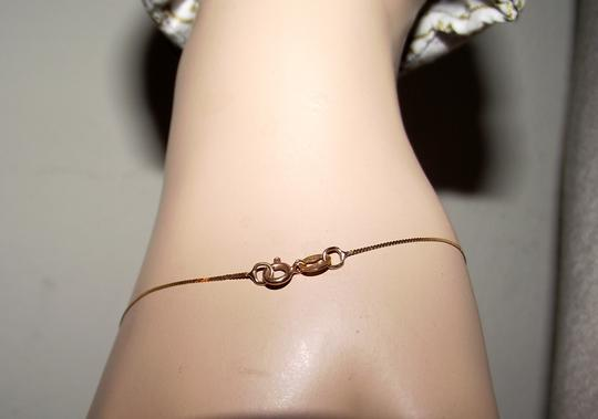 Other Solid Gold 14k Herringbone Chain Bracelet 7 Inches Long