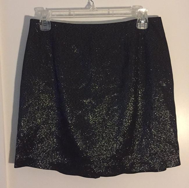 Vince Mini Skirt Black with sparkles