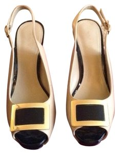 Nine West Pale Caramel Pumps