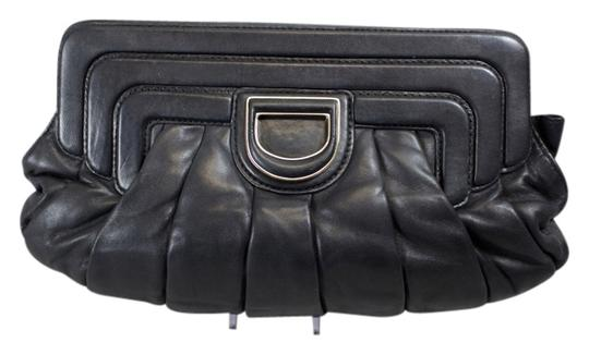 Preload https://item3.tradesy.com/images/dior-pleated-black-leather-clutch-6047032-0-0.jpg?width=440&height=440