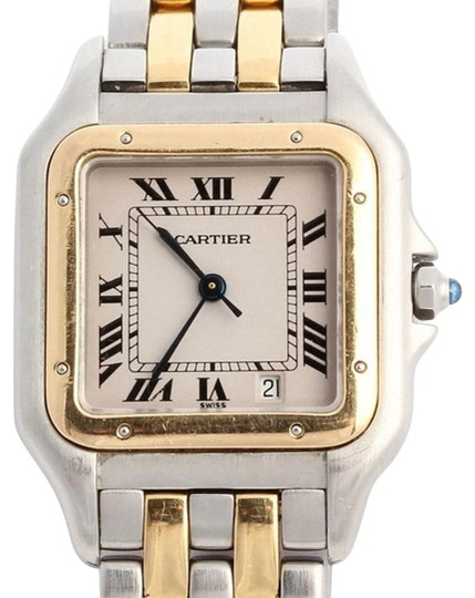 Preload https://item5.tradesy.com/images/cartier-mid-size-two-tone-panther-watch-6047149-0-1.jpg?width=440&height=440