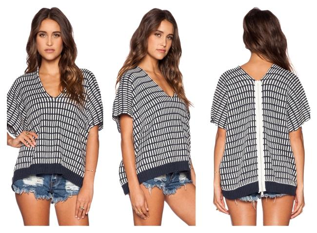 Preload https://item1.tradesy.com/images/free-people-charcoalivory-back-sweaterpullover-size-6-s-6047155-0-0.jpg?width=400&height=650