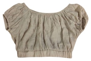 Shasa Top Tan/taupe