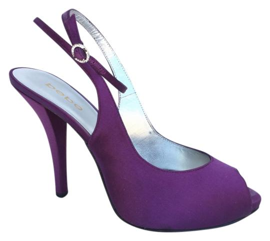 Preload https://img-static.tradesy.com/item/6048337/bebe-purple-satin-slingback-open-toe-pumps-size-us-9-regular-m-b-0-0-540-540.jpg
