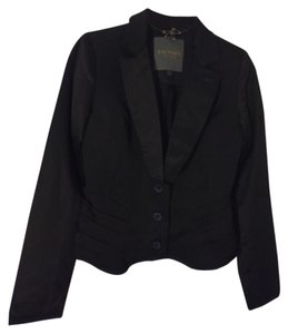Zac Posen for Target Black with blue trims and blue buttons Blazer