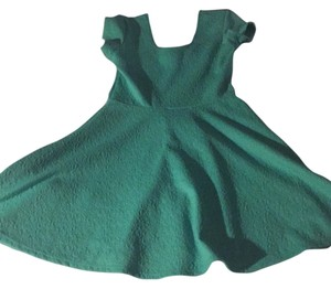 Planet Gold short dress Turquoise on Tradesy