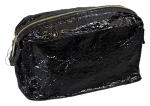 Stella McCartney Stella McCartney Cosmetic Case Steel Fabric - Black