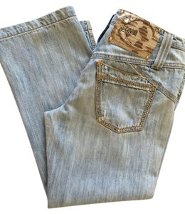 Just Cavalli Capri/Cropped Denim-Light Wash