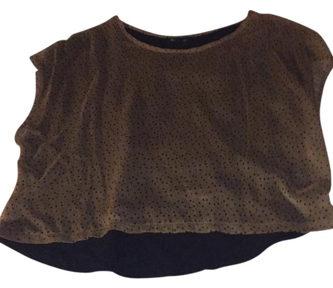 Forever 21 Top Gold and black