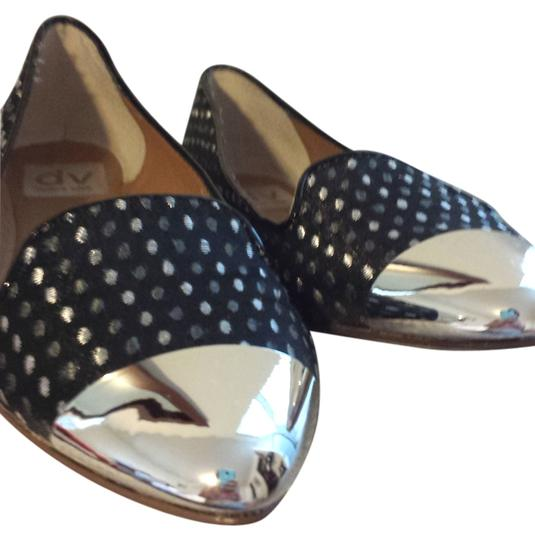 Dolce Vita Cute Mirror Printed Print Pattern Easy Blue Flats