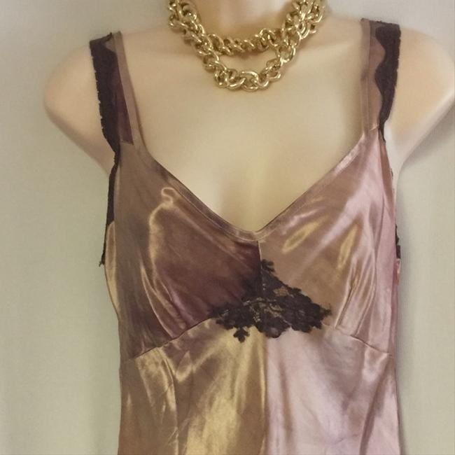 Betsey Johnson Vintage Late 80's Tie Die Lace Maxi Dress