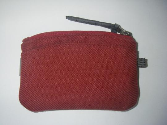 Eagle Creek Eagle Creek ID Wallet Zip-Acoss Coin Purse Red Fabric