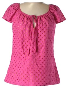 Trina Turk Top Pink & yellow