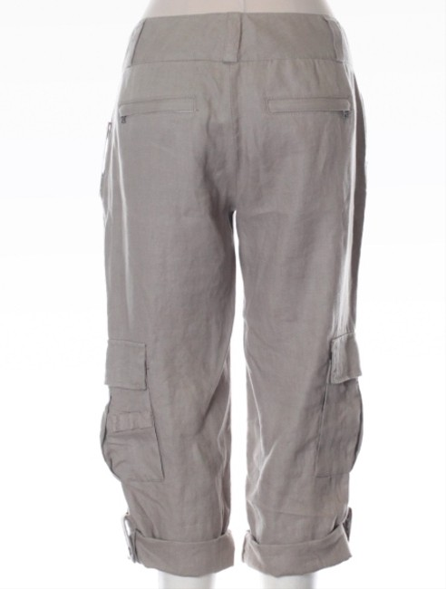 Alice + Olivia Weekly Designer Special Cropped Nwt New With Tags Size 6 28 Khaki/Chino Pants Gray