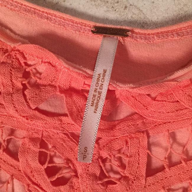 Free People T Shirt Coral