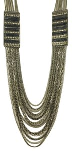 Express Express Embellished Multi-Strand Necklace