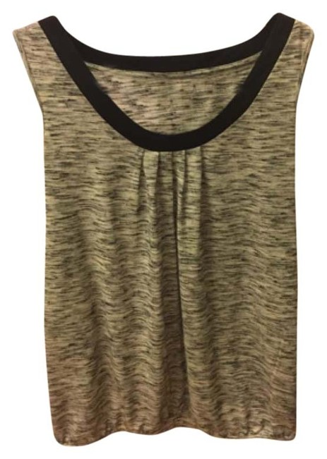 Ann Taylor LOFT Top Grey and black