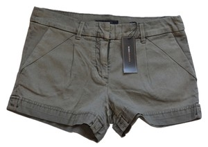 BCBGMAXAZRIA Cuffed Shorts Dusty Olive
