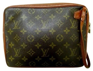 Louis Vuitton Wristlet Monogram Clutch