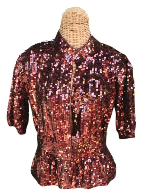 Preload https://item5.tradesy.com/images/boston-proper-bordeaux-sparkle-me-up-cardigan-s-68-night-out-top-size-6-s-6051379-0-1.jpg?width=400&height=650