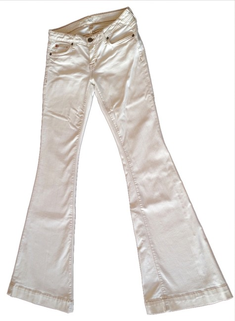 Item - White Light Wash Flare Leg Jeans Size 26 (2, XS)
