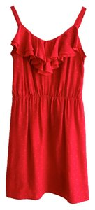 Amanda Uprichard short dress Red on Tradesy