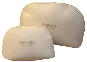 Chanel Beautiful Set of 2 Chanel Cosmetic Bags from Chanel Skincare