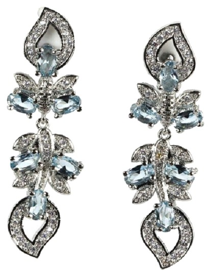 Preload https://item4.tradesy.com/images/other-stunning-blue-topaz-and-cz-long-dangle-925-sterling-silver-14k-earrings-6052813-0-0.jpg?width=440&height=440