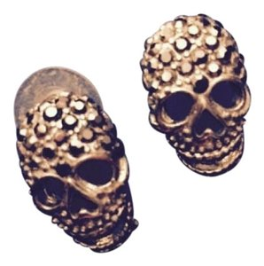 Butler & Wilson Skull Earrings