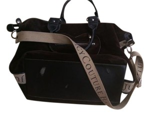 Juicy Couture Black Diaper Bag