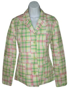 Lilly Pulitzer Plid Cotton Jacket
