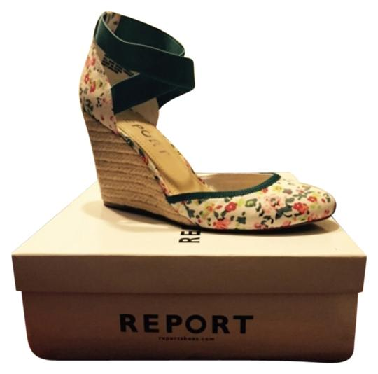 REPORT Floral Wedges