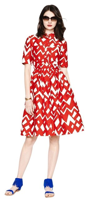 Preload https://item4.tradesy.com/images/kate-spade-madison-ave-aria-chevron-redblac-in-24-short-cocktail-dress-size-2-xs-6055573-0-0.jpg?width=400&height=650