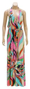 Pink/Multicolor Maxi Dress by Trina Turk