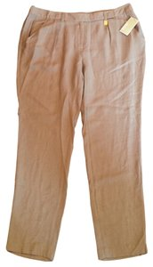 Michael Kors Rayon Pants Trousers Trouser/Wide Leg Jeans-Light Wash