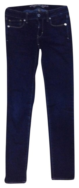 Preload https://item5.tradesy.com/images/american-eagle-outfitters-dark-wash-skinny-jeans-size-26-2-xs-6056809-0-0.jpg?width=400&height=650