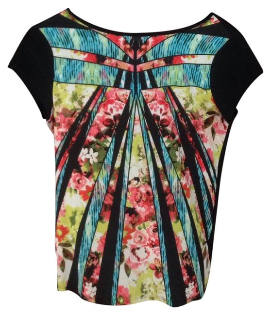 Preload https://item5.tradesy.com/images/ivanka-trump-black-colorful-casual-work-kaleidescope-new-no-tag-never-worn-lord-and-taylor-blouse-si-6057409-0-0.jpg?width=400&height=650