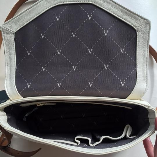 Vince Camuto Leather Envelope Magnetic Closure Cross Body Bag