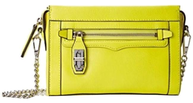 Item - Crosby Electric Yellow Leather Cross Body Bag