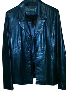 Couture by J. Park Leather Lambskin Coat