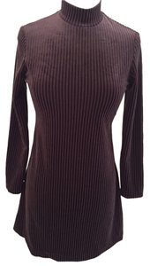 All That Jazz Winter Velvet Longsleeve Soft Dress