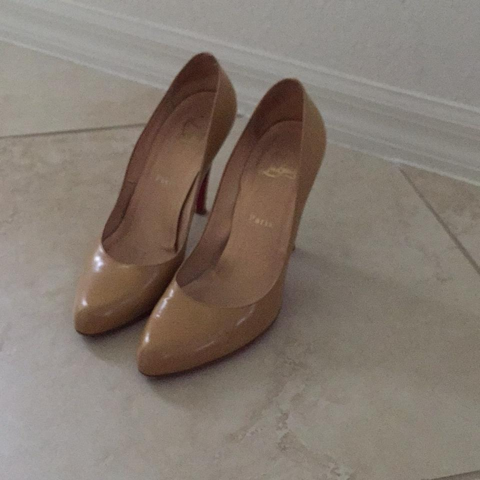 Women's Christian Louboutin from Camel/Tan Pumps We have received praise from Louboutin our customers. 7d1bd0