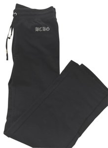 BCBGMAXAZRIA Comfortable Athletic Pants Black