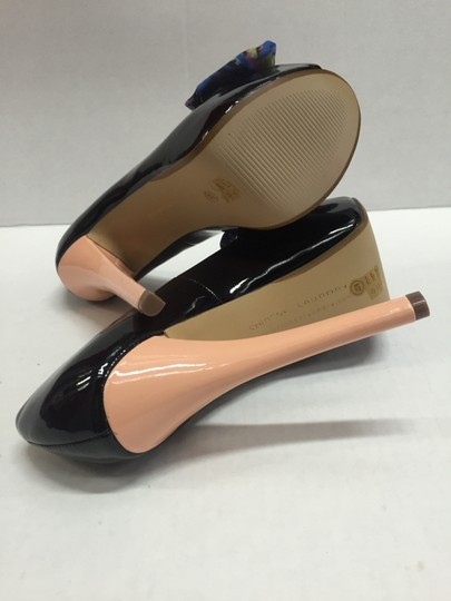Chinese Laundry Peep Toe Patent Black Pumps