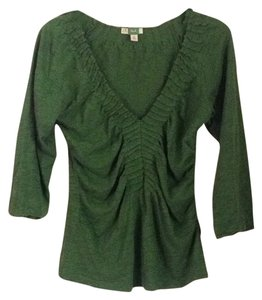Anthropologie T Shirt Kelly green