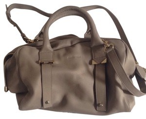 See by Chloé Satchel in Mink