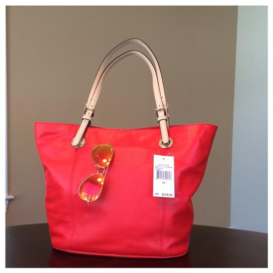 Michael Kors Tote in Dark Clementine