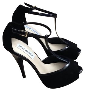 Steve Madden High Heels Sexy Evening Blac Platforms